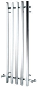 Bristan Heating Alto Bathroom Radiator (Chrome). 500x1500mm.