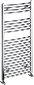 Bristan Heating Gina Curved Electric Radiator (Chrome). 600x1450mm.