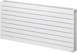 Bristan Heating Lotus 2 Double Bathroom Radiator (White). 1400x505mm.
