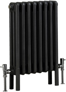 Bristan Heating Nero 3 Electric Thermo Radiator (Gun Metal). 400x600mm.