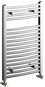 Bristan Heating Rosanna 500x1000mm Electric Curved Radiator (Chrome).