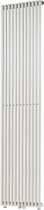 Bristan Heating Veronica Bathroom Radiator (White). 636x1800mm.