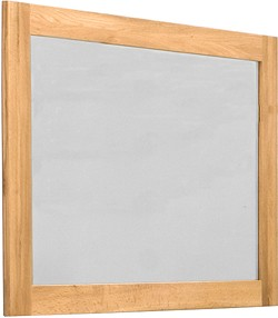 Baumhaus Mobel Mirror (Oak Frame). Size 1120x810mm.