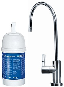 Brita Filter Taps On Line Active Plus Filter Kitchen Tap (Stainless Steel).