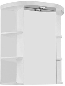 Croydex Cabinets Mirror Bathroom Cabinet With Light.  580x650x250mm.