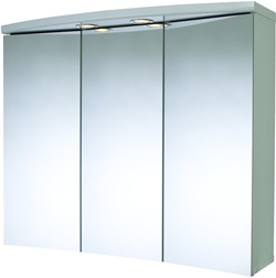 Croydex Cabinets 3 Door Bathroom Cabinet Lights Shaver 830x690x250mm
