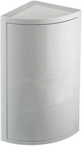 corner rotating bathroom storage unit 300x490x210mm