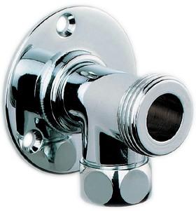 15mm Shower Back Plate Elbows Pair Chrome Deva