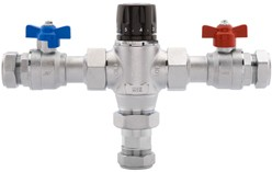 Deva Thermostatic TMV2. 28mm Thermostatic Blending Valve.