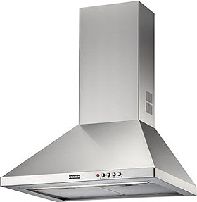Low noise cooker hoods