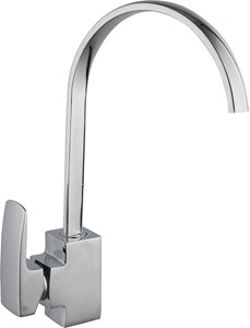 Hydra Adele Kitchen Tap With Single Lever Control (Chrome).