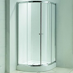 Matrix Enclosures Quadrant Shower Enclosure, 900mm.