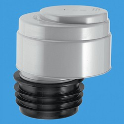 "McAlpine Ventapipe Air Admittance Valve For 4"" Or 3"" Soil Pipe."
