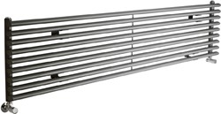 Crown Radiators Cypress 4697 BTU Radiator (Anthracite). 1800x405mm.