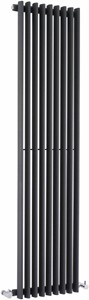 Crown Radiators Cypress 4697 BTU Radiator (Anthracite). 405x1800mm.