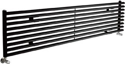 Crown Radiators Cypress 5527 BTU Radiator (Black). 1800x405mm.