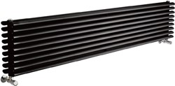 Crown Radiators Cypress 5036 BTU Radiator (Black). 1800x315mm.
