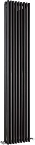Crown Radiators Cypress 5036 BTU Radiator (Anthracite). 315x1800mm.
