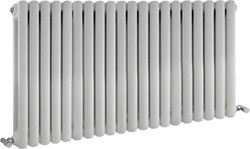 Crown Radiators Peony Double Radiator. 7108 BTU (White). 1223x635mm.