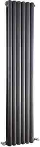 Crown Radiators Peony Double Radiator. 5705 BTU (Anthracite). 1500mm Tall.