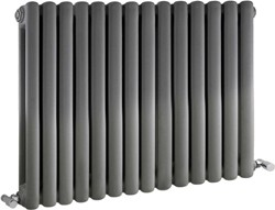 Crown Radiators Peony Double Radiator. 5108 BTU (Anthracite). 863x635mm.