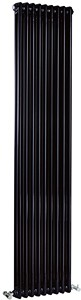 Crown Radiators Regency 2 Column Radiator (Black). 425x1800mm. 5749 BTU.