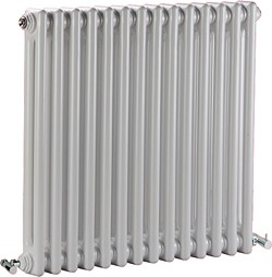 Crown Radiators Regency 2 Column Radiator (White). 650x600mm. 2981 BTU.