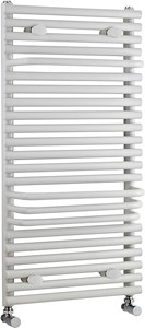 Crown Radiators Radiator With Built In Towel Rails (White). 500x875mm.