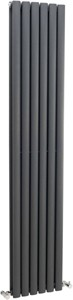 Crown Radiators Ricochet Vertical Radiator (Anthracite). 354x1750mm.