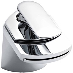 Crown Series U Waterfall Basin Mixer Tap (Chrome).