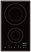 Smeg Induction Hobs Exclusive Studio Line 2 Ring Touch Control Hob 300mm