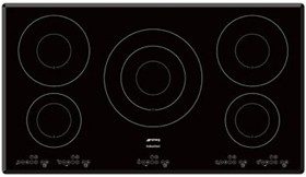 5 Ring High Power Touch Control Hob 900mm Smeg Induction Hobs Sm