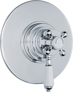 Ultra Beaumont Traditional Dual Concealed Thermostatic Shower Valve.