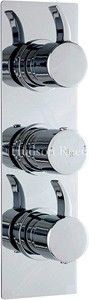 Hudson Reed Grace Triple Concealed Thermostatic Shower Valve (Chrome).