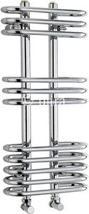 Ultra Radiators Sway Cloakroom Heated Towel Rail (Chrome). 300x650mm