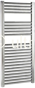 Ultra Radiators Straight Heated Towel Rail (Chrome). 500x1100mm. 1177 BTU.