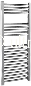 Ultra Radiators Curved Heated Towel Rail (Chrome). 500x1100mm. 1222 BTU.