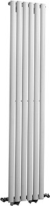 Hudson Reed Radiators Revive Radiator (White). 354x1800mm. 3030 BTU.