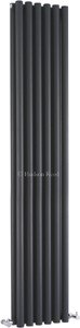 Hudson Reed Radiators Savy Double Radiator (Anthracite). 354x1800mm.
