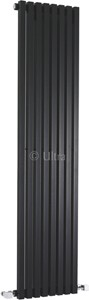 Ultra Radiators Kenetic Radiator (Black). 360x1500mm.