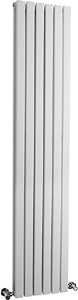 Hudson Reed Radiators Sloane Radiator (White). 354x1800mm. 7313 BTU.