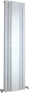 Hudson Reed Radiators Sloane Mirror Radiator (White). 381x1500mm.