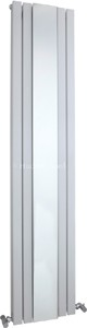 Hudson Reed Radiators Sloane Mirror Radiator (White). 381x1800mm.
