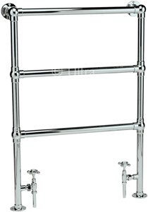 Ultra Radiators Cambridge Heated Towel Rail (Chrome). 676x966mm.