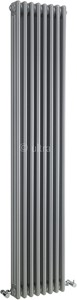 Ultra Colosseum Triple Column Radiator (Silver). 381x1800mm.