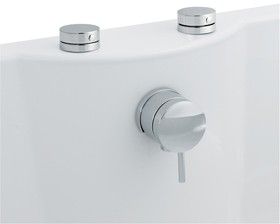 3 4 Quot Freeflow Bath Filler With Pop Up Waste And Overflow