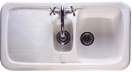 Aquitaine 1.5 bowl ceramic kitchen sink. Astracast Sink A ...