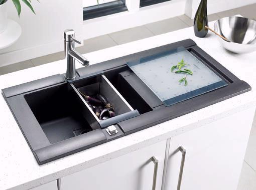 Geo 10 bowl rok metallic black composite kitchen sink astracast geo 10 bowl rok metallic black composite kitchen sink additional image workwithnaturefo