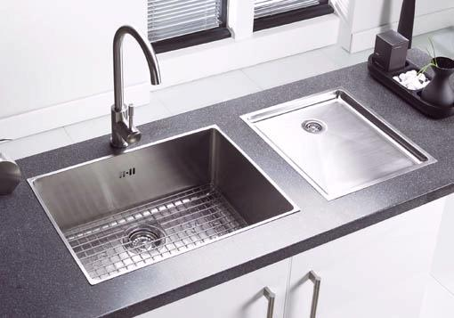 Onyx large bowl flush inset kitchen sink & Extras. Astracast Sink A ...