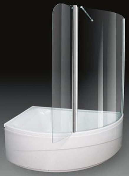 Corner Shower Bath With Screen Left Hand 1500x1000mm Additional Image